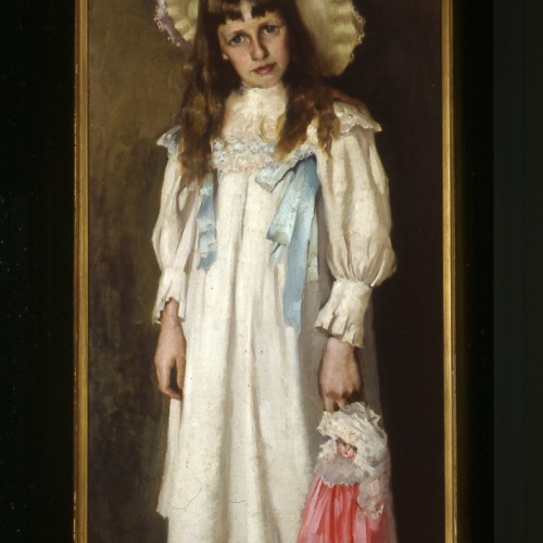 Jessie with doll 1897