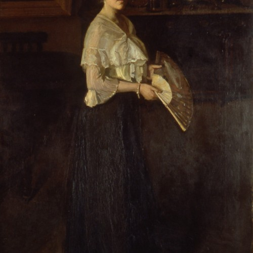 Lady with a fan 1904