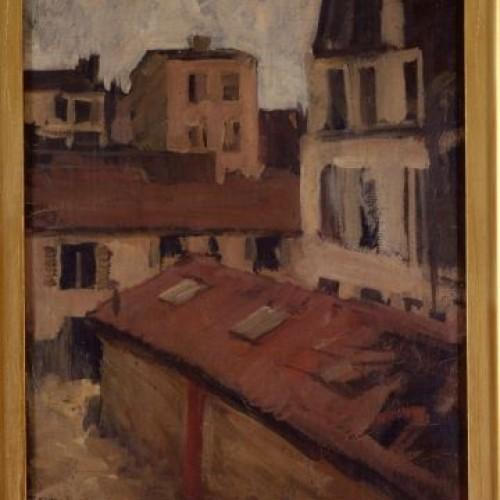Paris rooftops. 1901