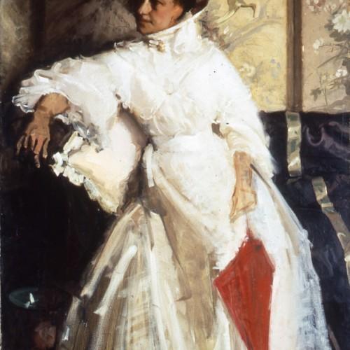 Portrait Mrs. L Robertson 1905