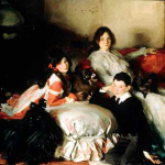 Sargent. Children of Asher Wertheimer. 1902.