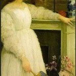 Whistler. Symphony in white 2.  1864.