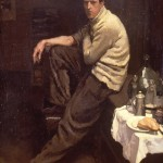 A student of the Latin Quarter 1901