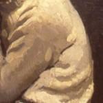 A student of the Latin Quarter close-up