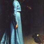 Lady in blue 1902