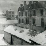 Snow in Paris 1901