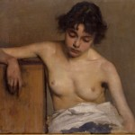 Study of girl, half-nude 1897