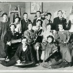 National Gallery students 1896. Ramsay back row.