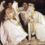Two girls in white 1904