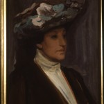 Portrait sketch Nellie Melba 1902