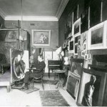 Ramsay working on Consolation Melbourne 1899