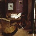 The artist's studio 1901