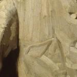 snip Ramsay artist white coat close-up